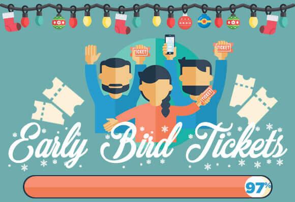 Feliz Navidad – Early Bird 97% verkocht