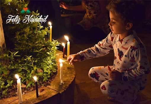 Kerst in colombia
